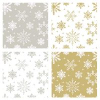 Silver and Gold Flake Patterns by HoneyCunt
