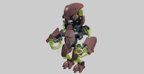 Bionicle Bohrok 2.5 1 by E-Matt