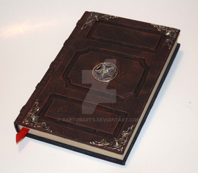 Cult Style Grimoire Tome Sketchbook Journal satan by RaptorArts