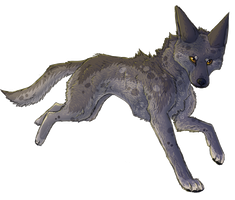 Wolf Dog by Starrypoke
