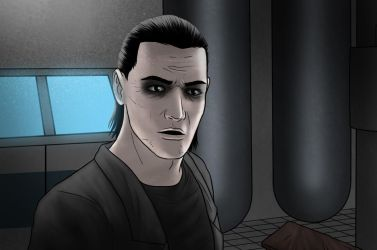 Pale Dark Issue 1 page 28 panel by IsleSquaredComics