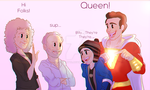 Billy and Freddy meets Queen by KissArmy10