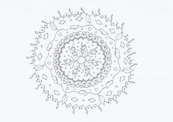 Spring mandala by CurrentlyLoading