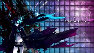 Black Rock Shooter - Wallpaper by alexda01