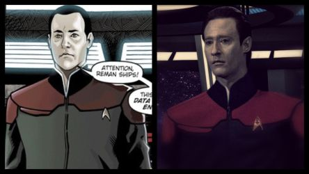 Star Trek: Countdown - Captain Data by jonbromle1