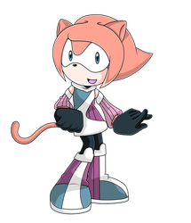 :Commission: Sonic X Melody the Cat by IWishForAFish