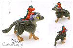 Custom: Trico and his little, dragon friend by CalicoGriffin