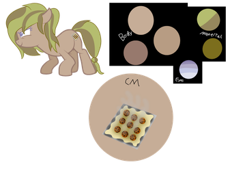 Cookie Baking Ref by EvoliGirl11Drawing
