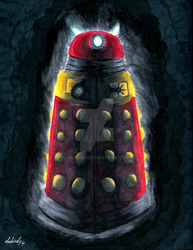 Nightmare Dalek by dubird