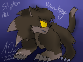 (Commission) Stephen the werehog by Foziz105