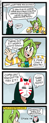 Lucky and Leaf #10 by relyon