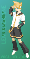 Vocaloid 02 - Len Kagamine by Purly
