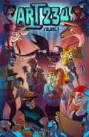 Art234 - The Study of Sequential Art, Cover by Hominids