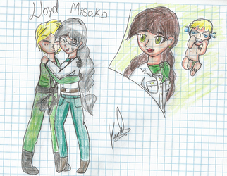 Misako and Lloyd by Tortupony