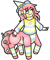 (CLOSED) Candy Centaur Adopt by PastelGlaze