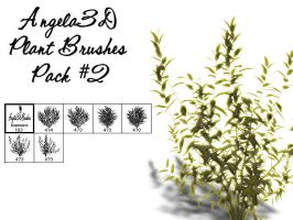 Angela3D Plant Brushes Set 2 by angela3d