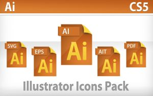Illustrator CS5 Icons by NuclearIce17