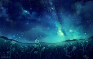 Meadow by antoniarts