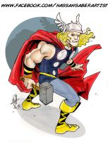 Thor by scarecrowhassan