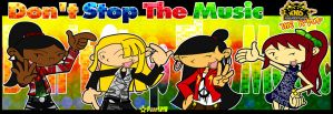 KND: Don't Stop The Music by RoseMary1315