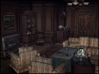 Baldwin Mansion (Living Room) by deexie
