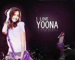 SNSD Yoona Wallpaper 3 by tifflebear
