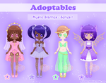 Adoptables - Mystic Starries - Series 1 by Princess-Peachie