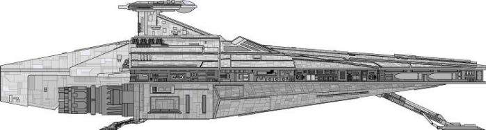 Acclamator Assault Ship by jaw500