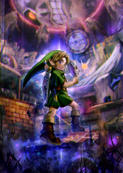 Majora's Mask by aoki6311
