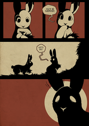 Rabbit Hole - 90 by Detrah