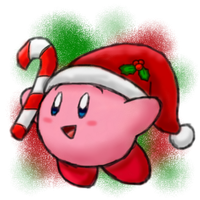 RQ: A Christmas Pink Puffball! :3 by BoxBird