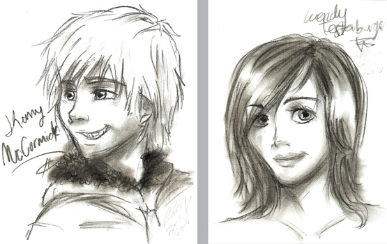 SP- Kenny + Wendy in Charcoal by SpiritLeTitan