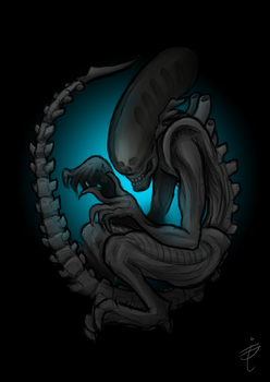xenomorph by aGentleGiant