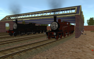 NWR #2 and #5 in Original Livery by Rose-Supreme