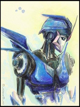 Arcee | Transformers Prime by sniperdusk