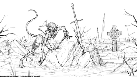 WIP - Undead Swamp by RoninDude