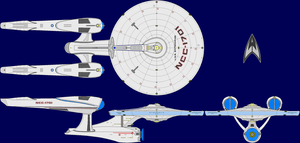 USS Enterprise AU Multi-View by captshade