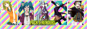 Pack 5 renders by Airumi-Dai