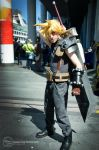 Final Fantasy Cloud Strife Cosplay by sweetcivic