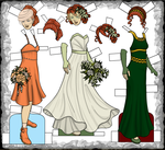 Giselle Bridesmaid, Bride, and Date Dresses by rockafellow