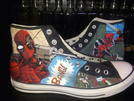 Theres no such thing as too much Deadpool by GamerGirl84244