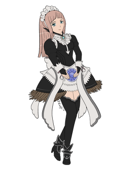 Commission: Ice Maid Felicia by freqrexy