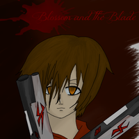 Blossom and the blade .:COVER:. by Mikan-bases