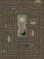 Earth Temple - Interior (Preset) by RonPepperMd