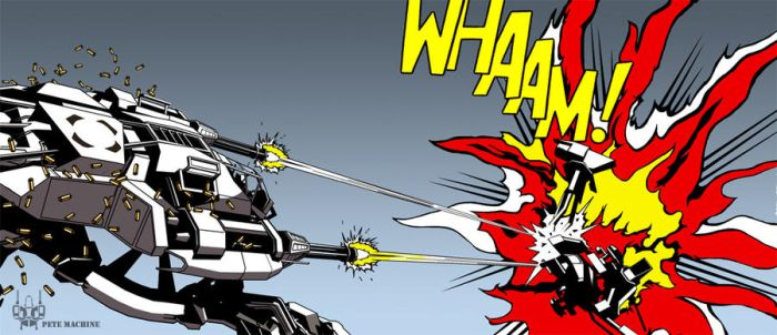 WHAAM by MeanPete