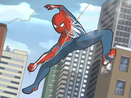 Spiderman! by MabocDurenArts