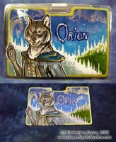 Orion Conbadge Commission by Dreamspirit