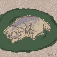 mum's dog died.. by all4dracome49