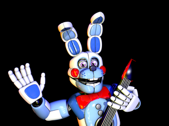 Funtime Bonnie v3 by bluthesnowleopord
