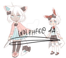 sorta halloween adopts: CLOSED by wolphfe